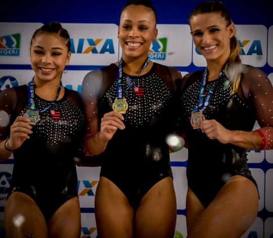 Ginastas rubro-negras são convocadas para os Jogos Pan-Americanos de Lima