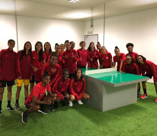 Flamengo vence São Francisco novamente e dispara na ponta do Brasileirão Feminino Sub-18