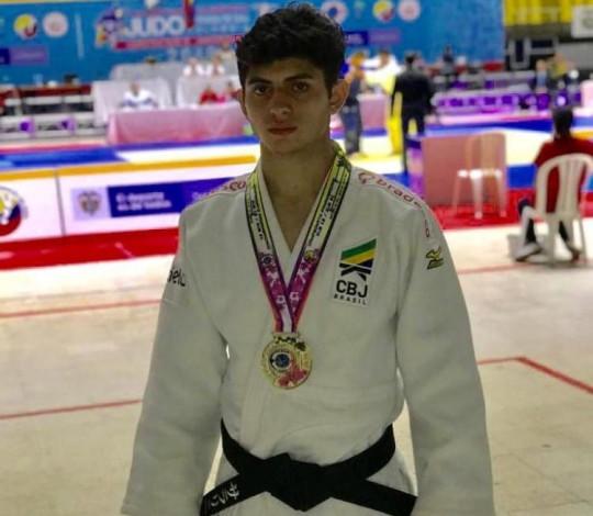 Cauan Salarini é campeão do Pan-Americano Sub-18 de Judô