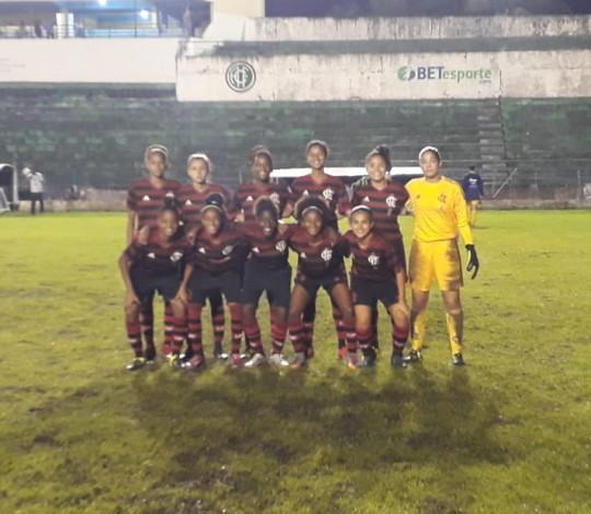 Flamengo goleia Vitória/Santa Cruz-PE mais uma vez no Brasileiro Sub-18