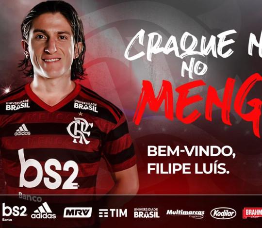 Filipe Luís é o novo jogador do Flamengo