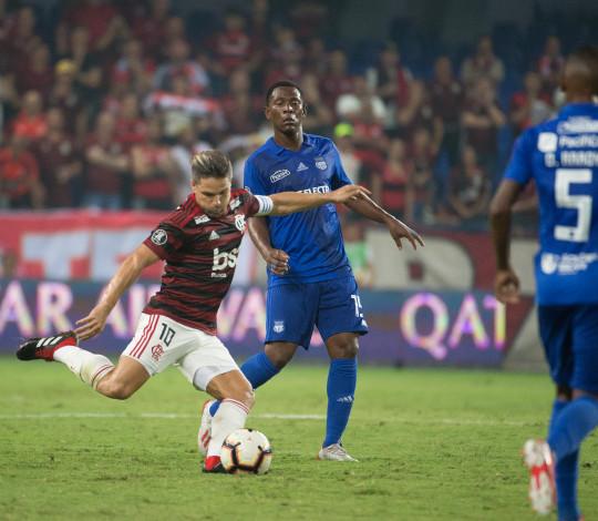 Flamengo perde para o Emelec na Libertadores