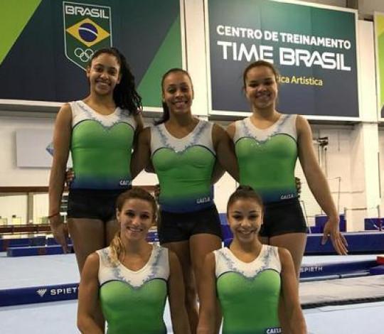 Rubro-negras da ginástica artística estreiam nos Jogos Pan-Americanos neste sábado (27)