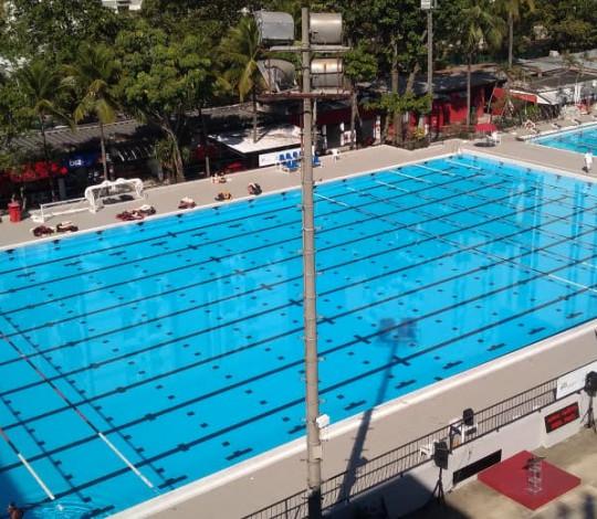 Flamengo inaugura piscina olímpica Rômulo Duncan Arantes