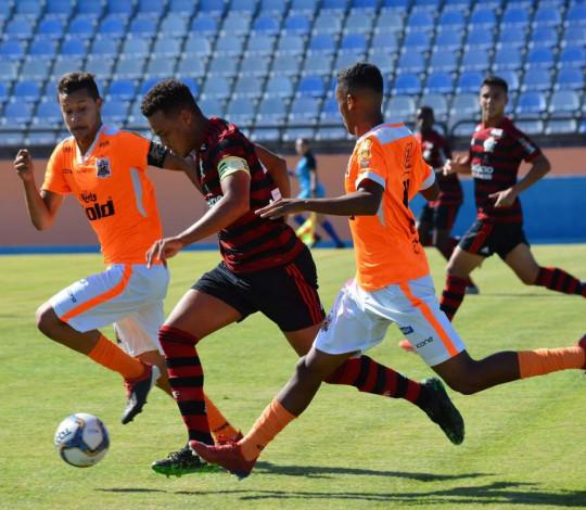 Sub-20 empata com o Nova Iguaçu fora de casa pela Taça Rio