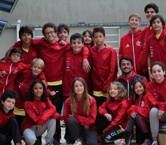 Rubro-negros das categorias Petiz e Infantil participaram de Swim Camp em Porto Alegre