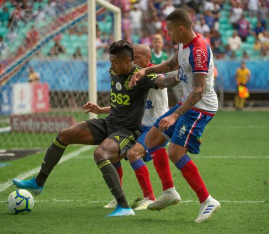 Flamengo é derrotado pelo Bahia no Brasileirão