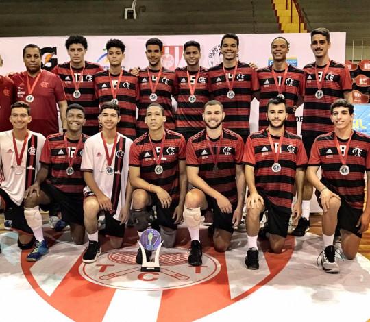 Flamengo é vice-campeão do Brasileiro Interclubes Sub-21 Masculino de Vôlei