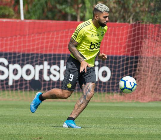 Gabigol comemora a sua fase no Flamengo e define como melhor momento na carreira