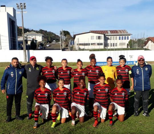 Flamengo perde para o Santos e encerra participação no Brasileiro Sub-18