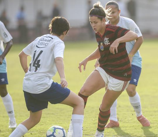 Flamengo/Marinha encara o Internacional pelo primeiro jogo das quartas do Brasileirão Feminino