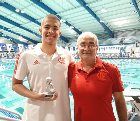 Gabriel Vereza é o atleta mais eficiente e destaque masculino em competição nos EUA