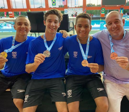Com participação de rubro-negros, Brasil é vice-campeão do Pan-Americano Sub-17 de Polo Aquático