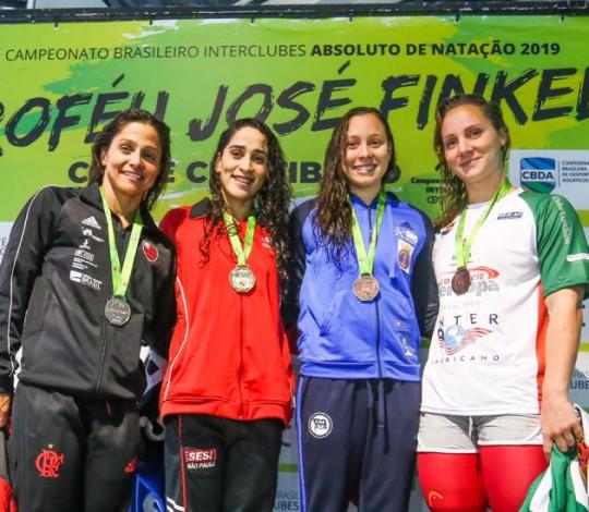 Flamengo conquista duas medalhas no primeiro dia de Troféu José Finkel