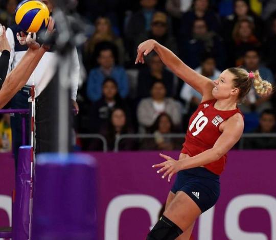 Hannah Tapp estreia na Copa do Mundo de Vôlei nesta sexta-feira (06)