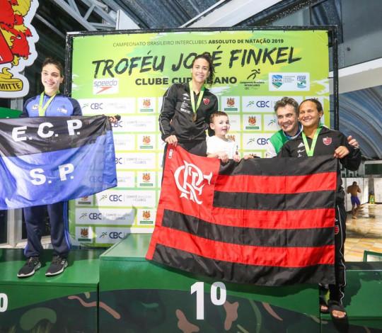 Flamengo conquista oito medalhas no Troféu José Finkel e termina com terceira colocação no feminino