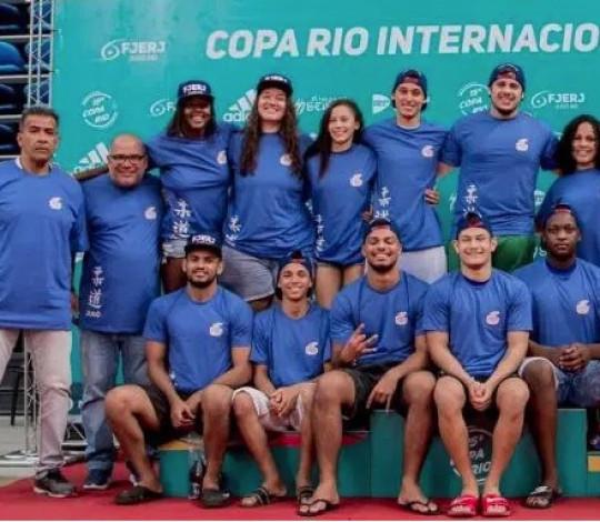 Time Flamengo é vice-campeão da Copa Rio Internacional de Judô