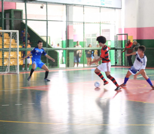Flamengo vence três jogos no Campeonato Estadual de Futsal de Base