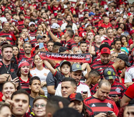 Primeiro dia de venda para Flamengo x Grêmio tem mais de 25 mil ingressos vendidos