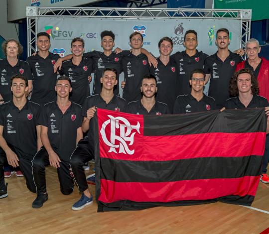 Flamengo estreia no Brasileiro Interclubes de Vôlei Sub-19 nesta terça-feira (17)