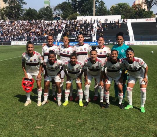 Flamengo/Marinha perde por 2 a 0 para o Corinthians no Brasileiro Feminino