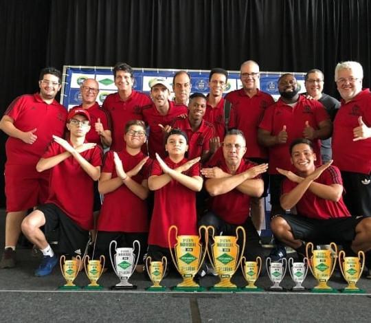 Flamengo é campeão em duas categorias do Estadual Individual de Futebol de Mesa Dadinho