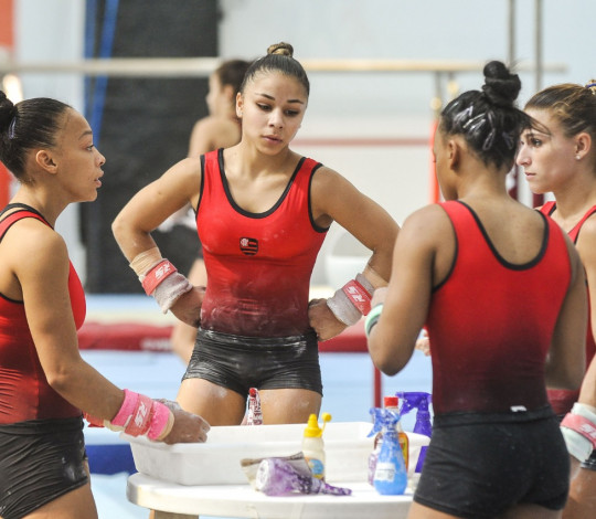 Rubro-negras participam do último camp antes do Mundial de Ginástica Artística