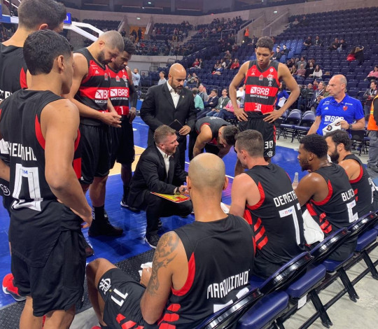 Flamengo perde por 80 a 72 para o Bayern na estreia do NBA G League International Challenge