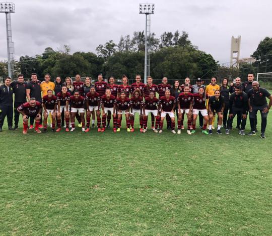 Em tarde inspirada, Flamengo/Marinha goleia a LBD/Porto Real por 13x0 no Cefan