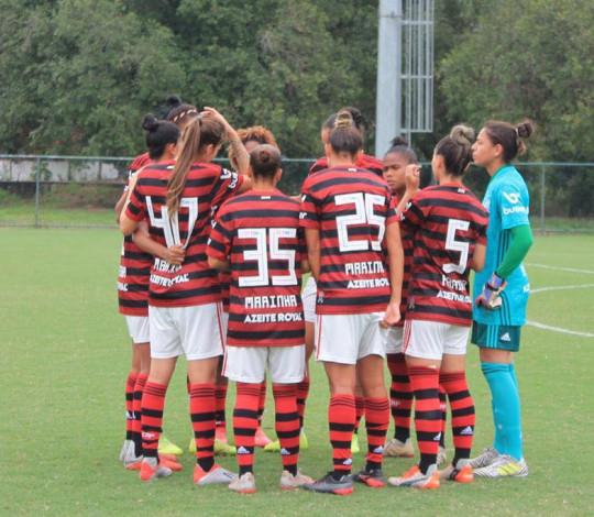 Flamengo/Marinha aplica goleada no Campo Grande pelo Carioca Feminino