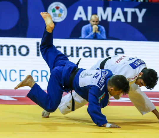 Cauan Salarini disputa Campeonato Mundial Sub-18 de Judô, no Cazaquistão