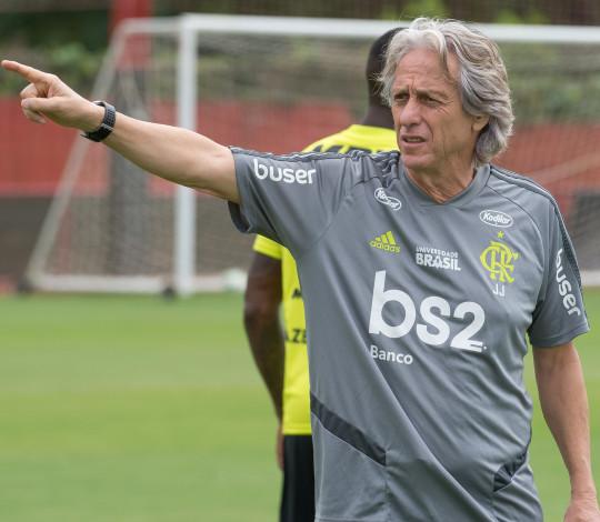 Flamengo se reapresenta visando jogo contra o São Paulo