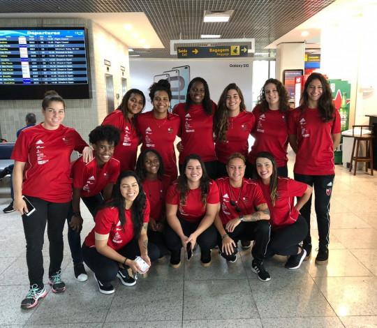 Flamengo estreia com vitória na Liga PAB Feminina