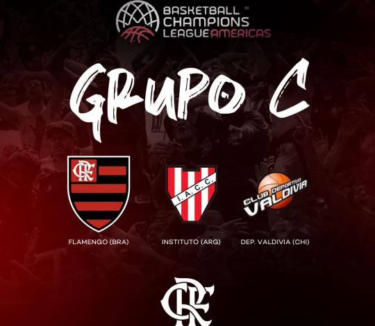Flamengo conhece seus adversários na Champions League de Basquete