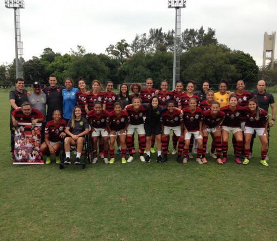 Flamengo/Marinha goleia Seleção da CUFA e segue com 100% de aproveitamento no Carioca Feminino