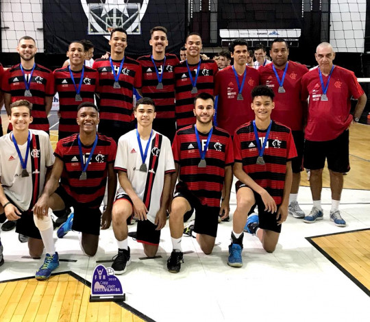 Com equipe Juvenil, Flamengo disputa Campeonato Carioca Adulto Masculino