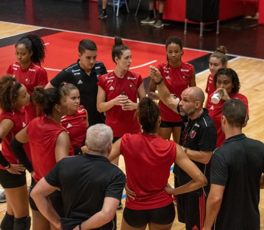 FlaVôlei disputa Desafio Minas x Rio antes de estreia no Estadual