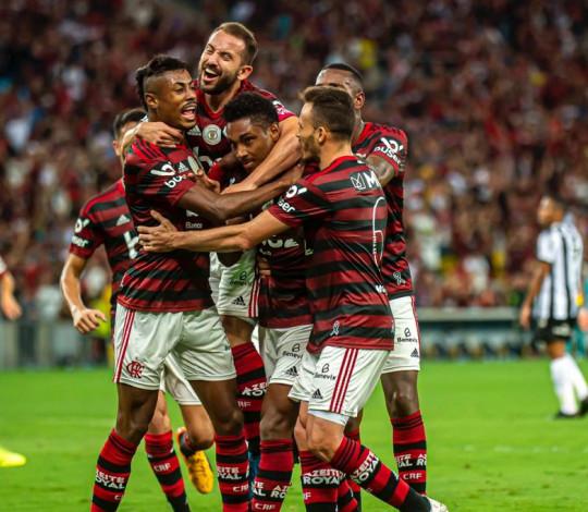 Mengão vence o Atlético-MG por 3 a 1, no Maracanã