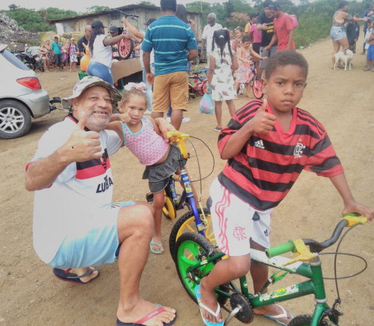 Dia das Crianças do Flamigos da Bahia