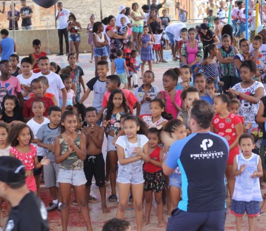 Embaixada Flanáticos PS realiza III Dia das Crianças Flanáticas