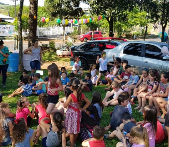 Flapecó realiza ação beneficente na Escola Pública Municipal
