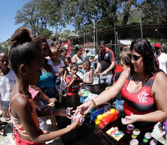Embaixada Fla Valença-RJ realiza festa para comemorar o Dia das Crianças