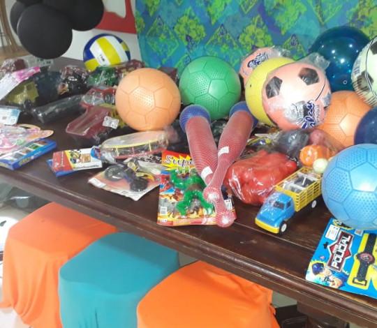 NAÇÃO ITA-FLA (ITAPERUNA) promove arrecadação de brinquedos para crianças carentes
