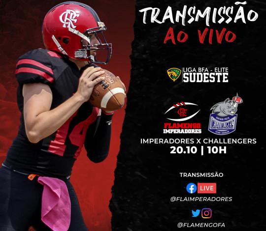 Lutando por classificação, Flamengo Imperadores encara o Ribeirão Preto Challengers na última rodada