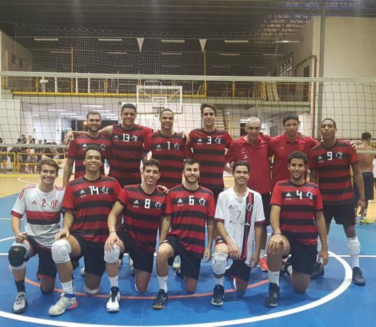 Flamengo disputa a semifinal do Estadual Adulto Masculino contra o Sesc-RJ