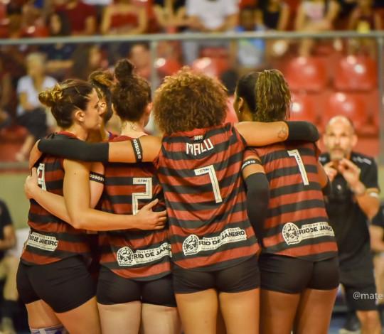 FlaVôlei estreia no Campeonato Estadual neste sábado (26)