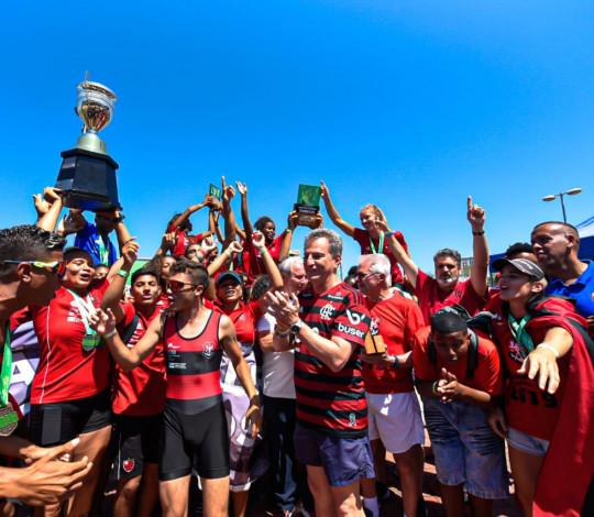 CAMPEÃO! Flamengo conquista o título do Brasileiro de Barcos Longos e encerra temporada perfeita