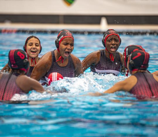 Sábado de pódio no Campeonato Brasileiro Interclubes de Polo Aquático