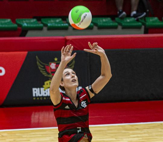 FlaVôlei enfrenta o Fluminense pelo Campeonato Estadual nesta segunda-feira (28)