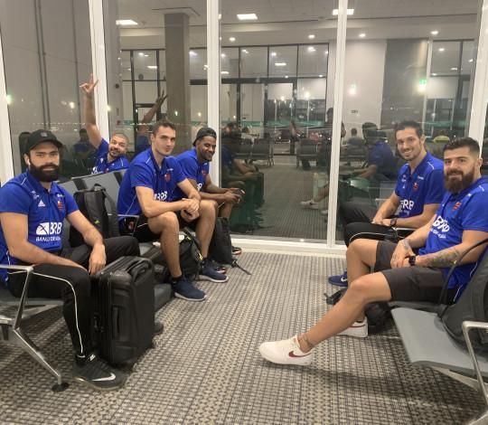 FlaBasquete já está em solo argentino para disputa da Champions League